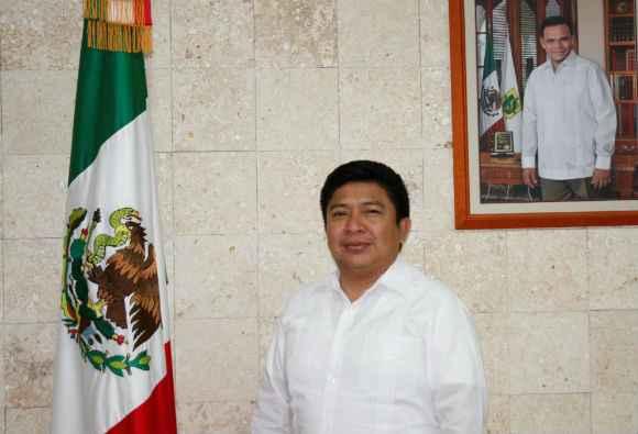 Armando Escobedo May titular de IVEY Yucatán (Cortesía)