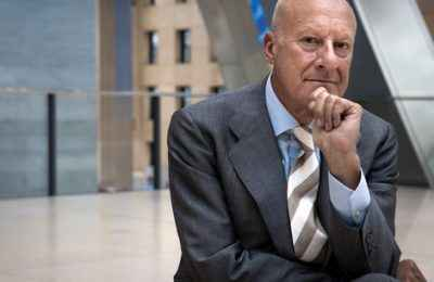 COMMISSIONED FOR INTELLIGENT LIFE MAGAZINE NOV/DEC 2012 Architect Norman Foster at The Hearst Tower in New York