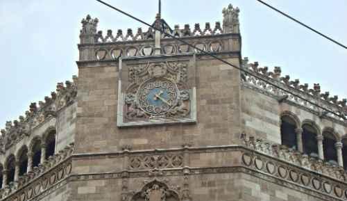 Palacio Postal reloj