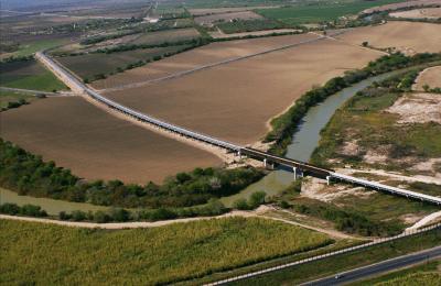 Puente ferroviario Matamoros y Brownsville