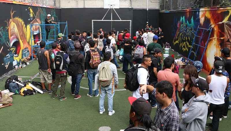 Comenzó Grafiti Meeting Of Styles México