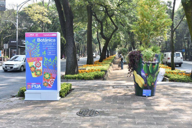 Orgullo Bravo plasma su obra en Paseo de la Reforma
