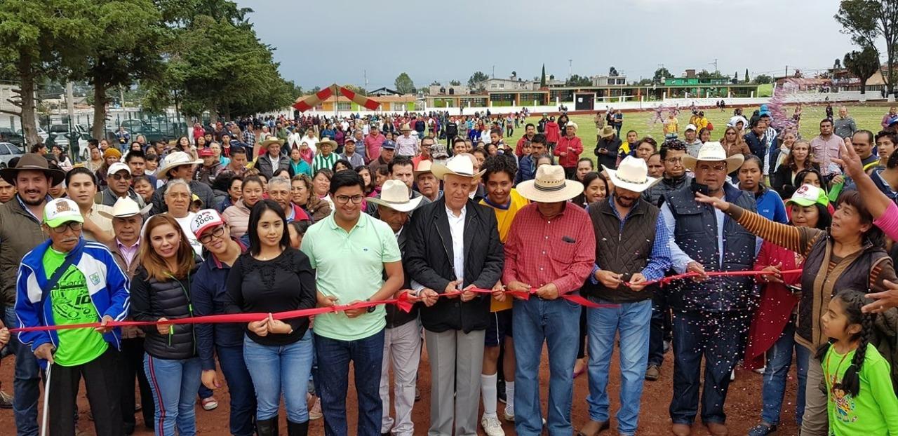 Sedatu impulsa desarrollo de comunidades con infraestructura deportiva