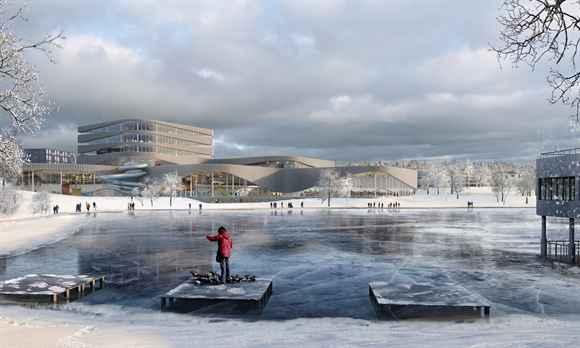 Suecia alista impresionante centro acuático