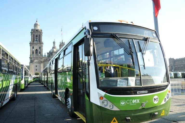 GCDMX resaltá mejoras al transporte público de la capital