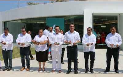 Construyen en Calakmul casa de cultura con un diseño arquitectónico ex profeso