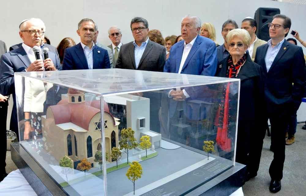 Inicia construcción de Centro de Documentación e Investigación Judío de México