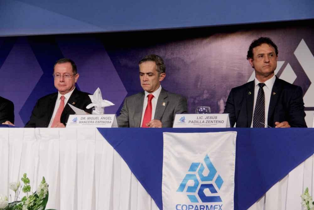 COPARMEX CDMX combatirá corrupción: Padilla