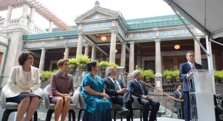 Entregan restauración de la Casa Rivas Mercado en la CDMX