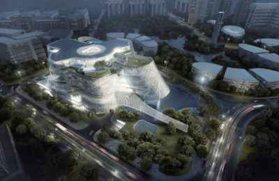 MAD Architects crea espectacular centro de diseño en China