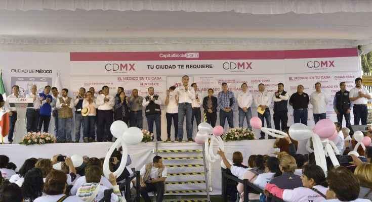 """Feria de los Servicios y """"Tu Ciudad Te Re-Quiere"""" llegan a Tlalpan"""