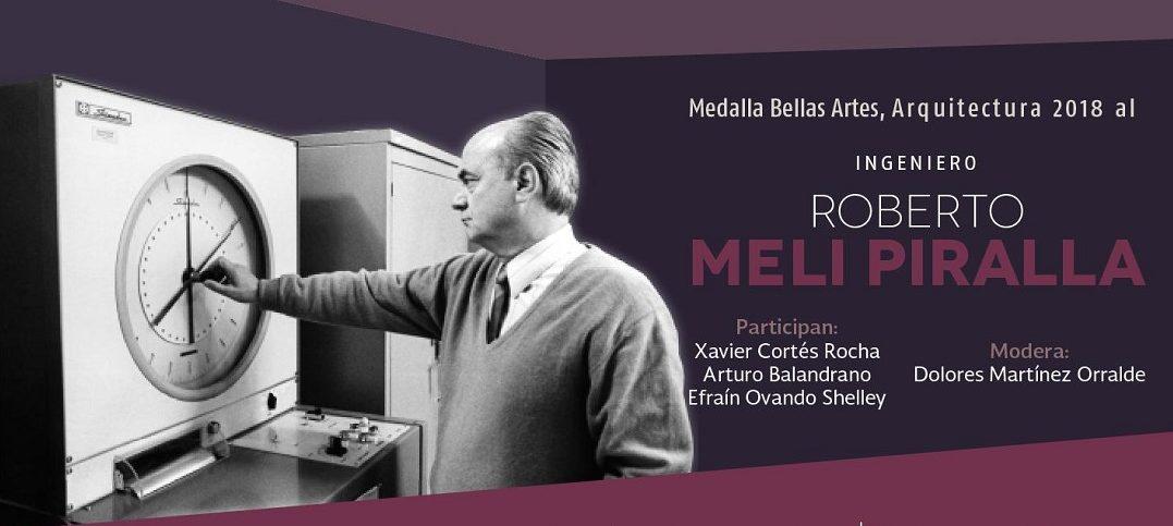 Roberto Meli Piralla recibirá Medalla Bellas Artes de Arquitectura