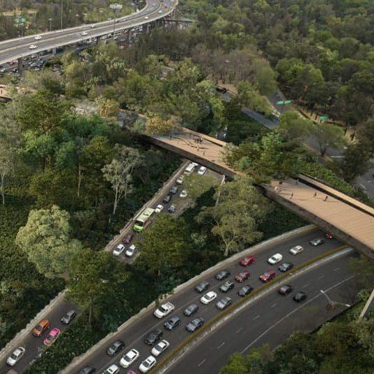 Nueva calzada flotante unirá secciones del Bosque de Chapultepec