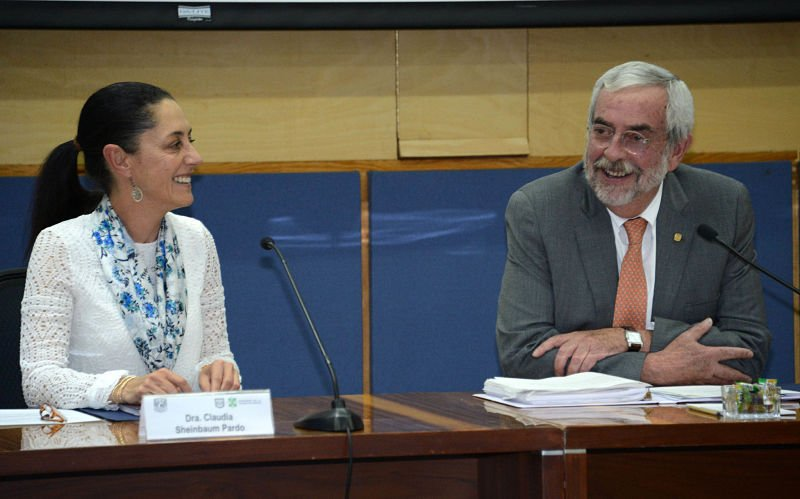 CDMX y UNAM analizan proyectos para mejorar movilidad