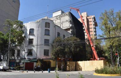 Demoliciones en CDMX tomarán hasta un año