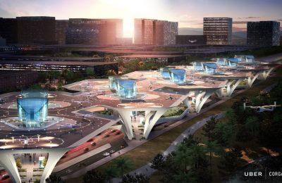 Presenta Uber seis posibles modelos de puertos aéreos
