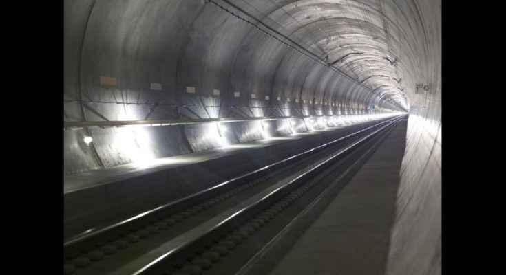 Suiza inaugura el túnel más largo y profundo del mundo