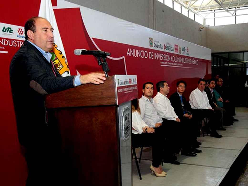 Empresa coreana arriba a Coahuila generando empleos