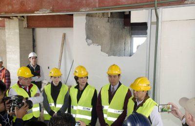 Demuelen pisos excedentes en edificio de la Hipódromo