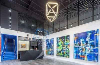 Taller de arquitectura MX TAD crea el Pabellón de Arte PANDEA en Puebla