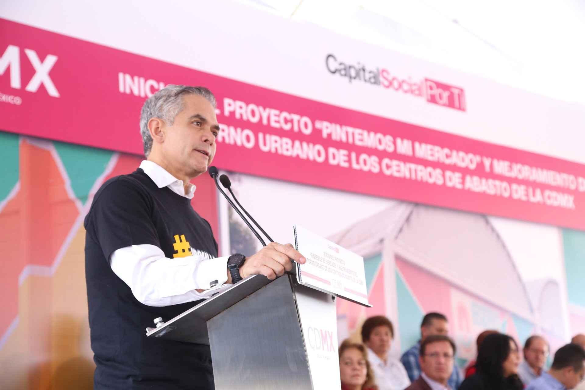"""""""Pintemos Mi Mercado"""" arranca en Iztapalapa"""