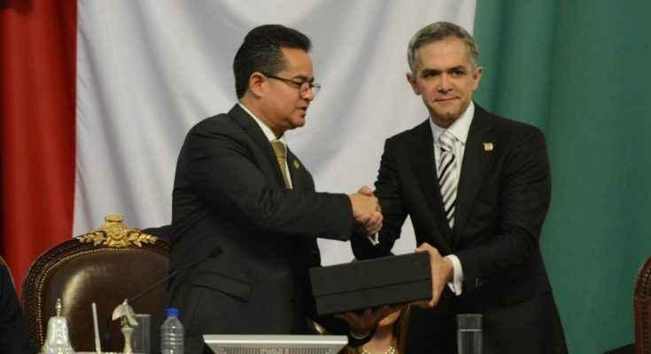 El pasado 17 de septiembre el jefe de gobierno de la Ciudad de México, Miguel Ángel Mancera, entregó su cuarto informe de gobierno a la Asamblea Legislativa y en el detalló los proyectos de la industria de la construcción que están en desarrollo y contemplados durante su administración.