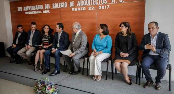 Colegio de Arquitectos de Querétaro celebra su XLV aniversario