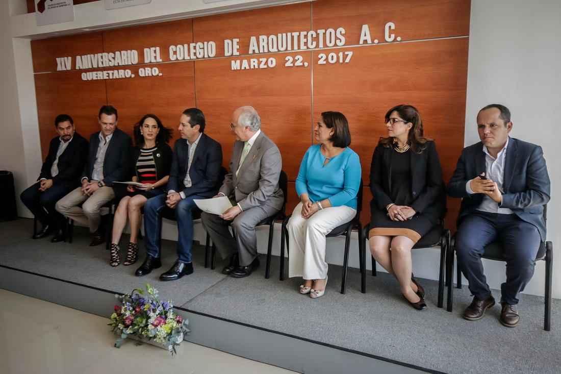 Colegio de arquitectos de quer taro celebra su xlv aniversario - Colegio arquitectos leon ...