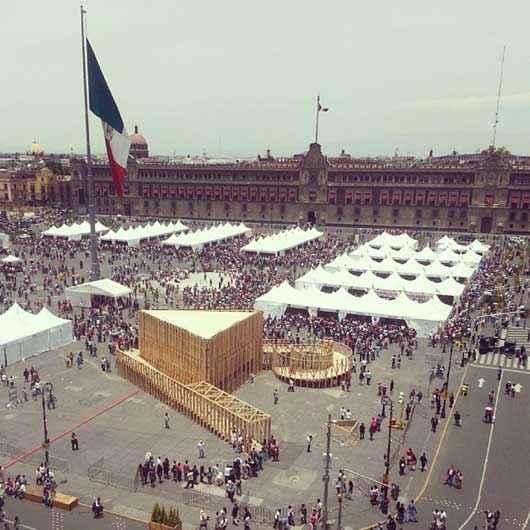 Pabellón de la Feria de las Culturas 2014 recibe premio internacional