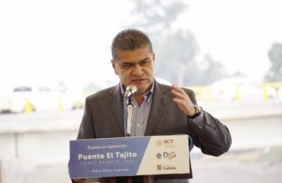 Coahuila y Durango inauguran puente 'El Tajito'