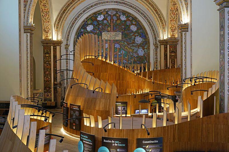 Museo de la constituciones recibe galardón de arquitectura alemán