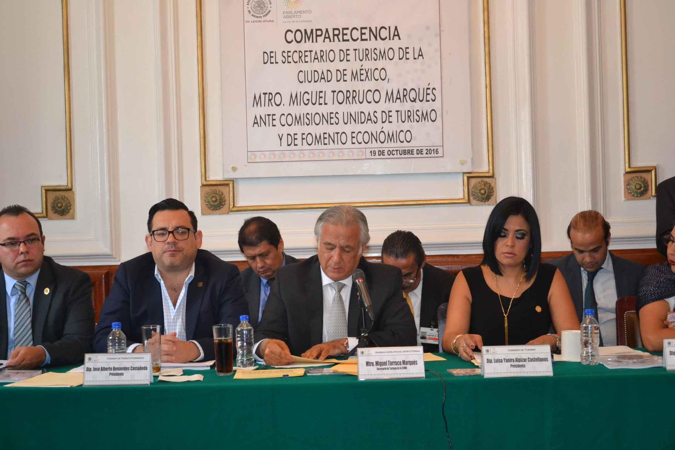 Turismo en la capital se podría ver afectado: Torruco