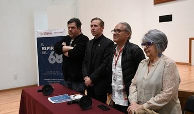 'El espíritu del 68': jornada conmemorativa en Los Pinos