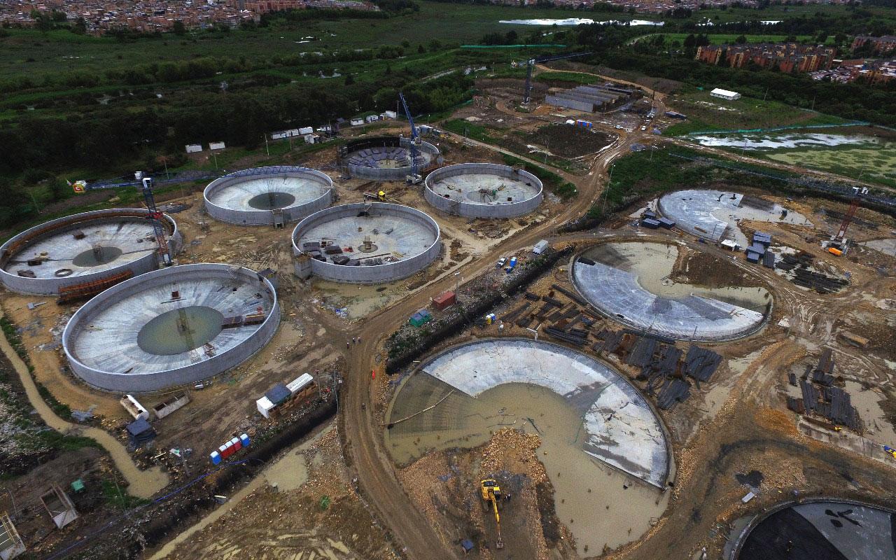 Aporta Cemex concreto para Planta de Tratamiento de Agua en Colombia