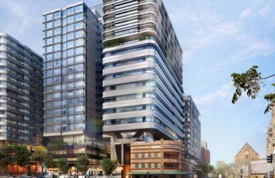 Destaca diseño de nuevo complejo de uso mixto en Sídney