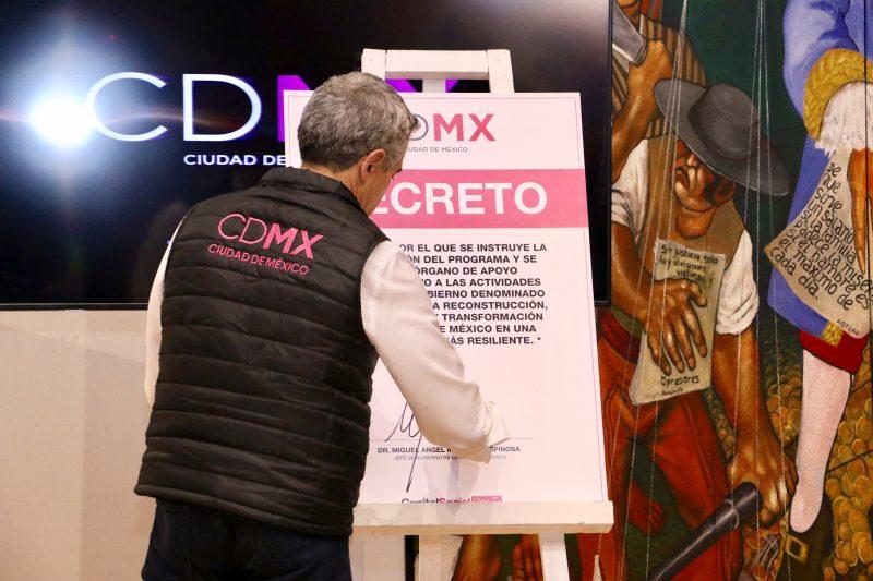 Participará la ADI en la reparación de edificios en la CDMX