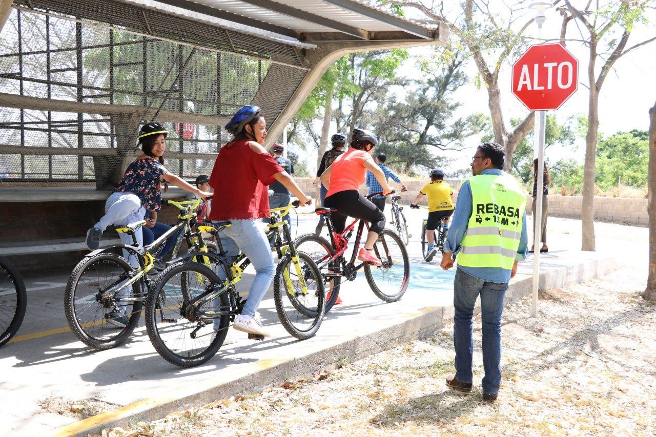 Promueven uso de la bicicleta en Guadalajara