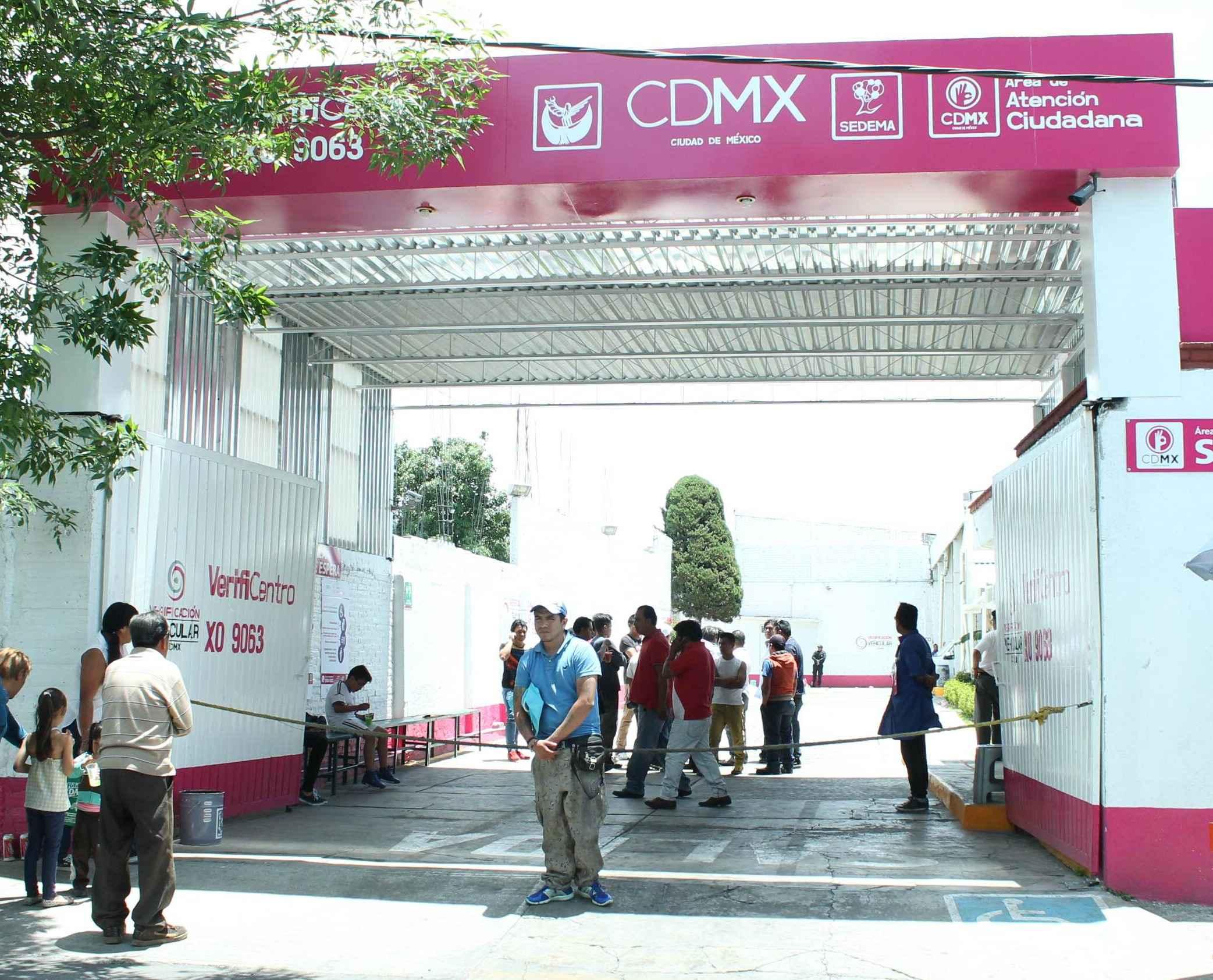 Clausuran verificentro en Xochimilco por irregularidades