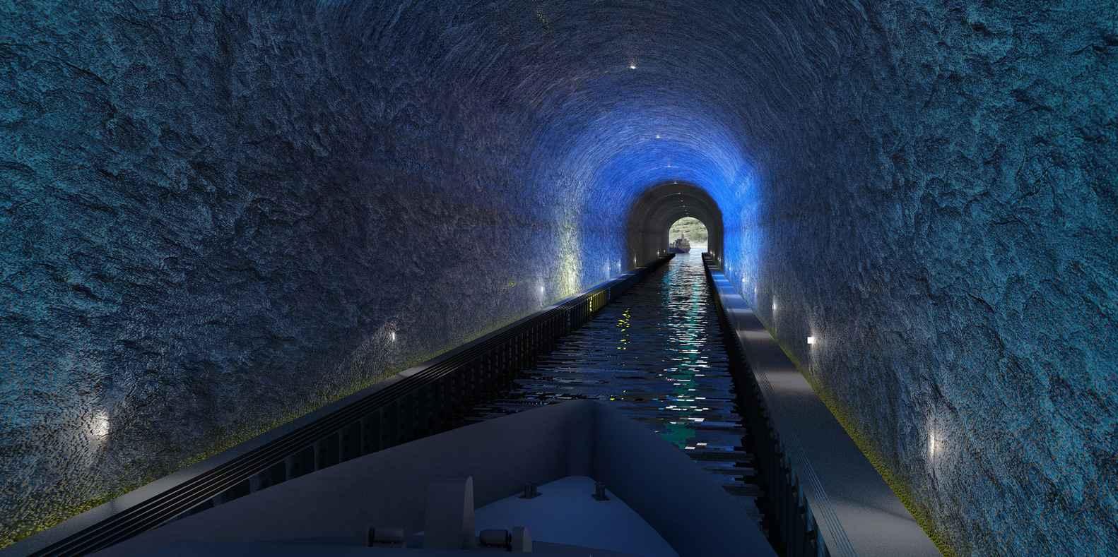 Así será el primer túnel para barcos del mundo