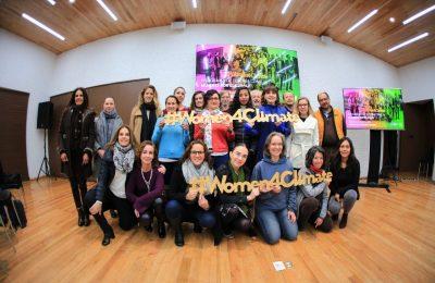 Mujeres de la CDMX trabajan para combatir cambio climático