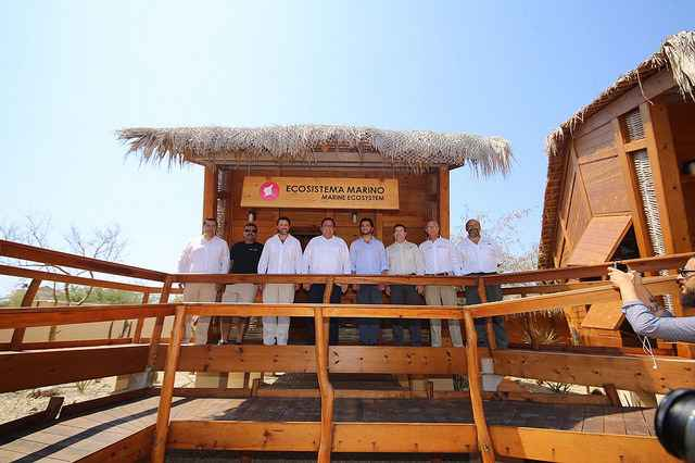Inauguraron centro de visitantes en Cabo Pulmo