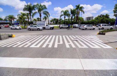 Intervienen artísticamente paso peatonal en Guadalajara