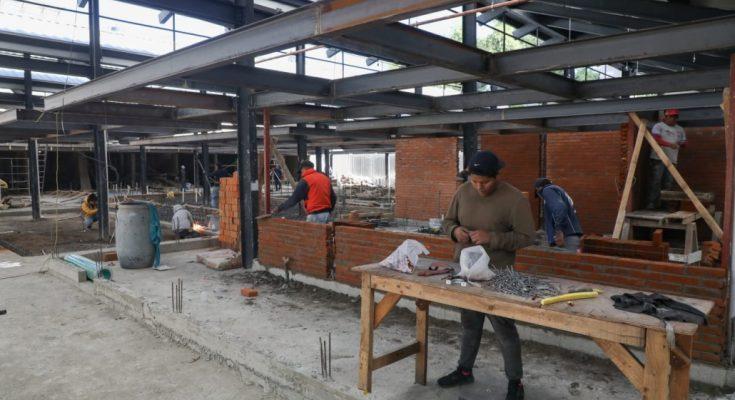 Entregarán remodelación del Mercado Morelia a finales de enero