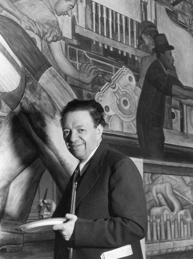 Celebramos El Natalicio De Diego Rivera