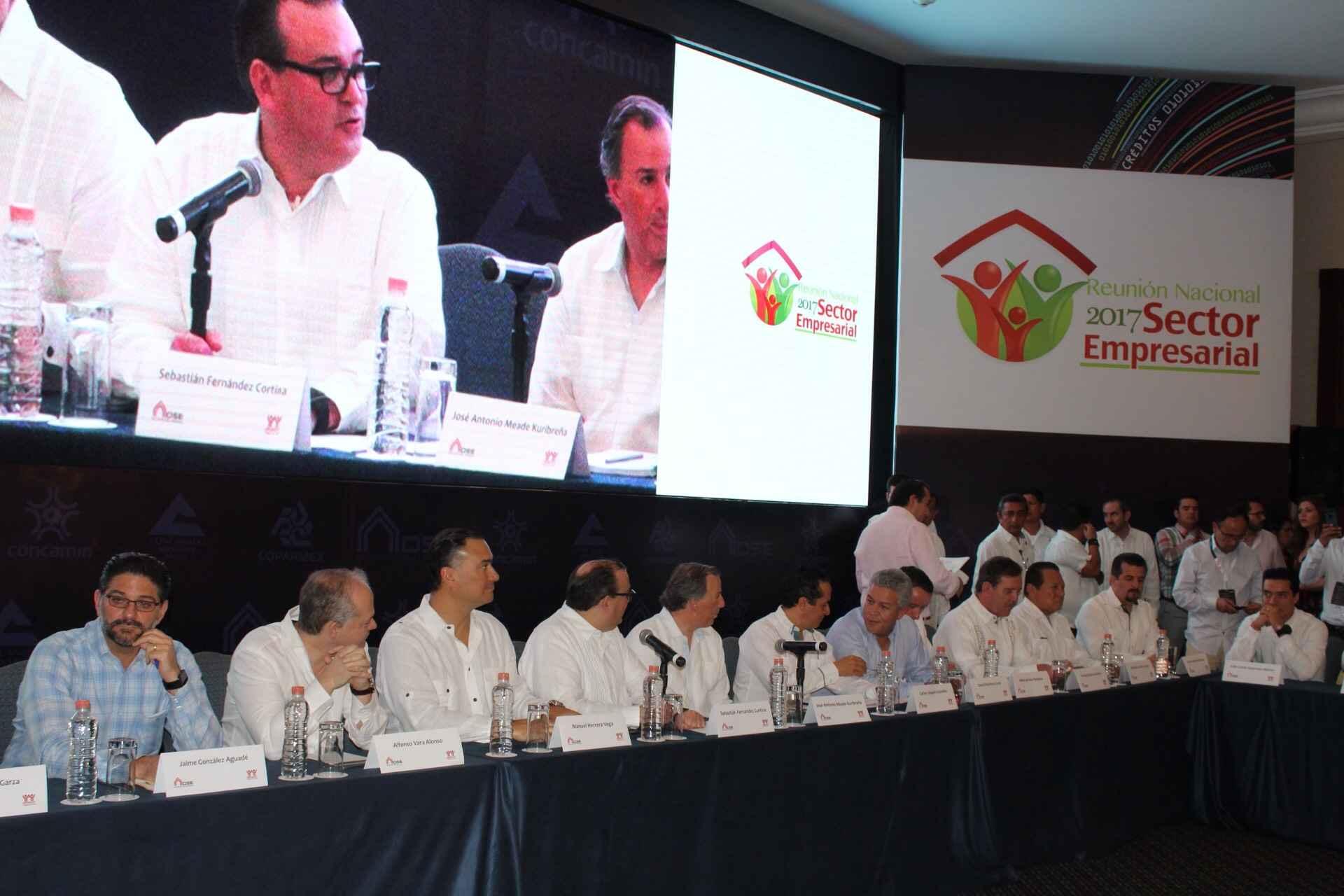Reunión del Sector Empresarial Infonavit