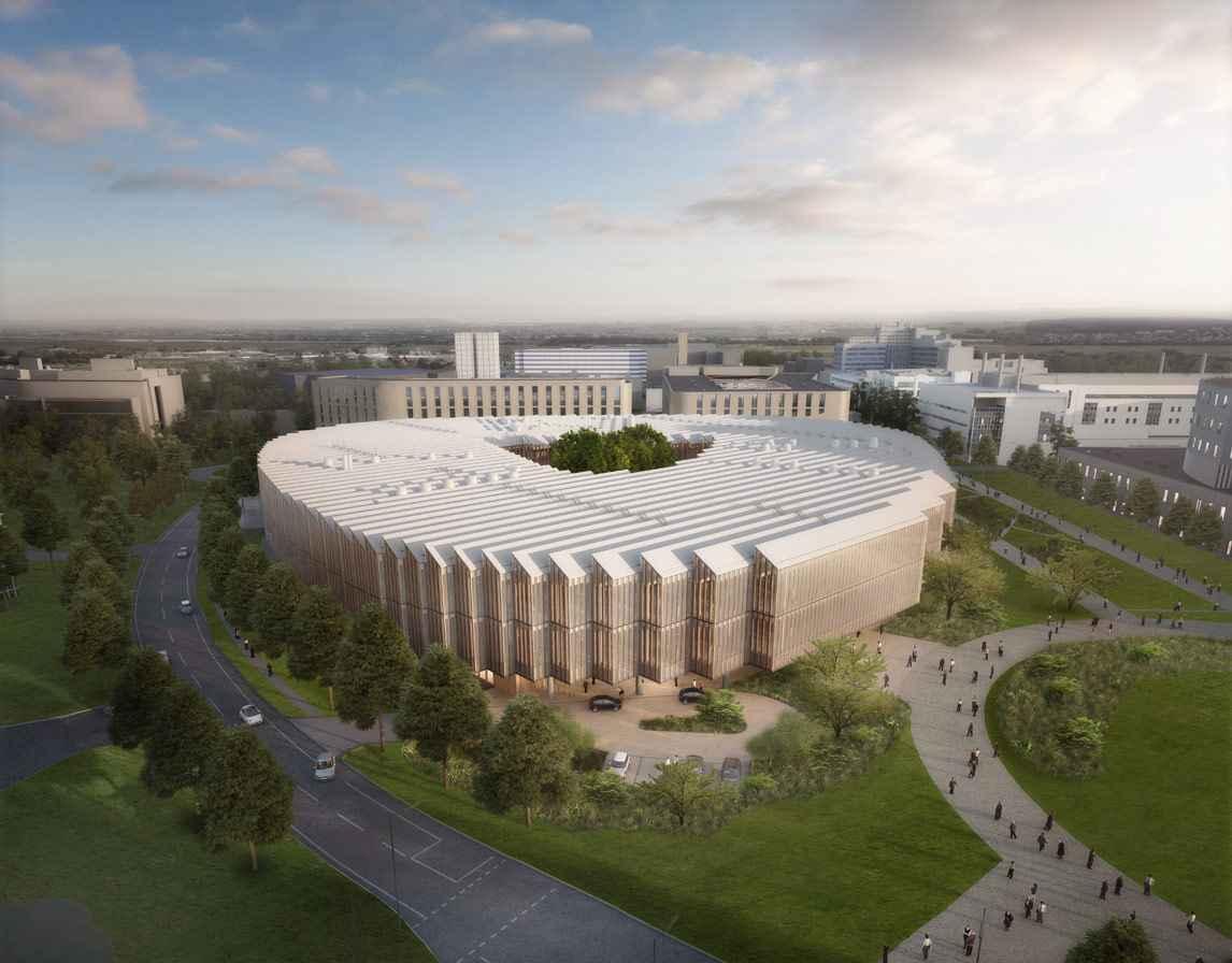 Herzog & de Meurondesarrolla nuevo centro de investigación AstraZeneca
