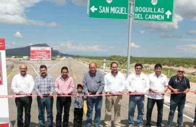 Inician obra de pavimentación en Coahuila