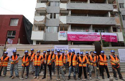Inicia INVI demolición en paseos de Taxqueña, referente en trabajos de Reconstrucción de CDMX