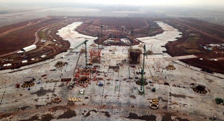 Construcción del NAIM, suspendida desde diciembre: SCT