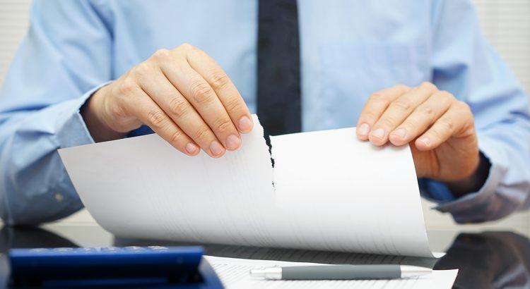 5 razones por las que una solicitud de crédito es rechazada